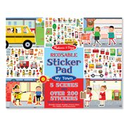 Melissa & Doug Stickers Kit My Town