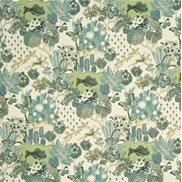 Mulberry Home Tyg Glendale Teal/Leaf