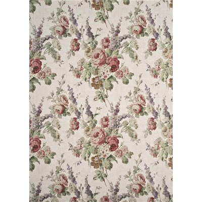 Mulberry Home Tyg Vintage Floral Rose/Green