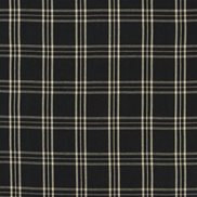 Ralph Lauren Tyg Cross Wind Plaid Black/Linen