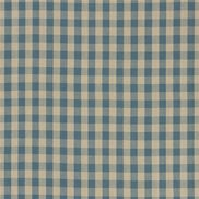 Ralph Lauren Tyg Old Forge Gingham Chambray/Linen