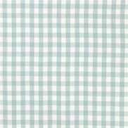 Ralph Lauren Tyg Old Forge Gingham Pool/White