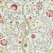 William Morris & Co Tyg Mary Isobel Pink/Ivory