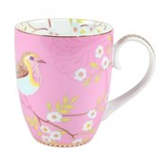 PiP Studio Mugg Early Bird Pink Large