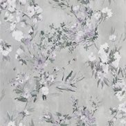 Designers Guild Tapet Faience Silver