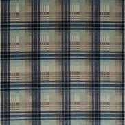 Mulberry Home Tyg Mulberry Velvet Ancient Tartan Blue/Aqua