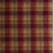 Mulberry Home Tyg Mulberry Velvet Ancient Tartan Plum