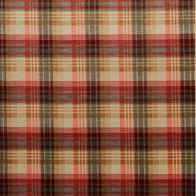 Mulberry Home Tyg Mulberry Velvet Ancient Tartan Spice
