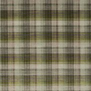 Mulberry Home Tyg Mulberry Velvet Ancient Tartan Grey/Green