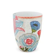 PiP Studio Mugg Spring to Life Flower Off White L