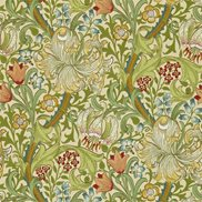 William Morris & Co Tapet Golden Lily Pale Biscuit