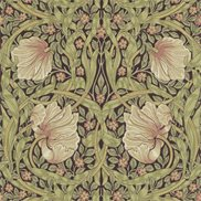 William Morris & Co Tapet Pimpernel Bullruch/Russet