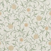 William Morris & Co Tapet Scroll Thyme/Pear
