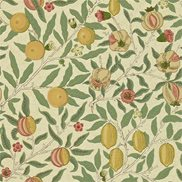 William Morris & Co Tapet Fruit Beige/Coral/Gold