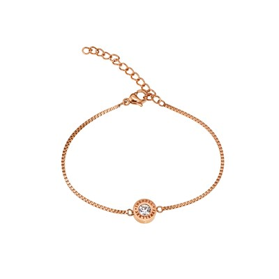 Ingnell Jewellery Armband Ellie Thin Rose