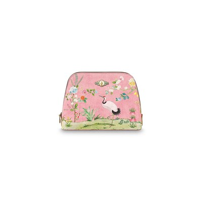 PiP Studio Necessär Floral Triangle Pink Large