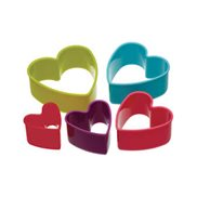 KitchenCraft Kakformar Heart 5 st
