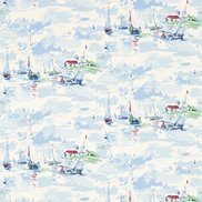 Sanderson Tapet Sail Away Sky Blue