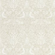 William Morris & Co Tapet Pure Dove and Rose White Clover