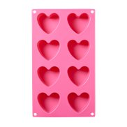 Rice Bakform Silicon Heart Pink