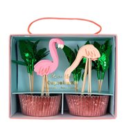 Meri Meri Cupcake Kit Flamingo