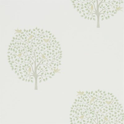 Sanderson Tapet Bay Tree Celadon/Flint