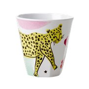 Rice Mugg Wild Leopard Medium