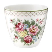 GreenGate Lattemugg Aurelia White