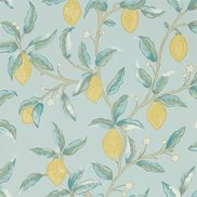 William Morris & Co Tapet Lemon Tree Wedgewood