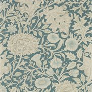 William Morris & Co Tapet Double Bough Slate Blue