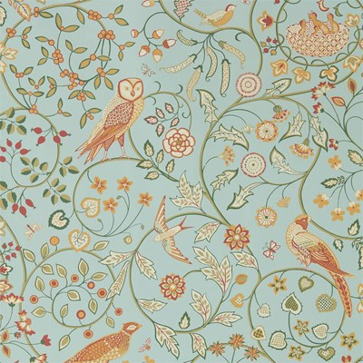 William Morris & Co Tapet Newill Peppermint Russet