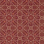 William Morris & Co Tapet Brophy Trellis Russet Gold