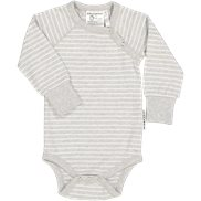 Geggamoja Body Stripe Light grey