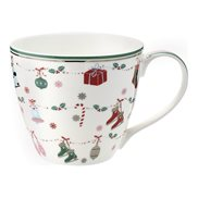 GreenGate Mugg Jingle bell White