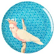 Rice Tallrik Vintage Bird Blue 26 cm