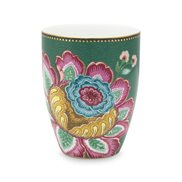 PiP Studio Mugg Jumbo Flower Green