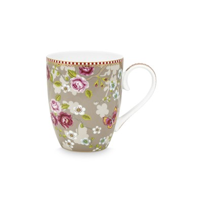 PiP Studio Mugg Chinese Rose Khaki Large