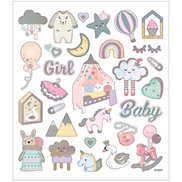 Creativ Company Stickers Baby Girl