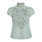 Saint Tropez Blus Lilly Disty Floral Smoke