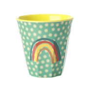 Rice Mugg Small Rainbow & Stars Medium