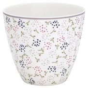GreenGate Lattemugg Ginny White