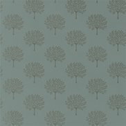 Sanderson Tapet Marcham Tree English grey