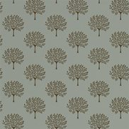 Sanderson Tapet Marcham Tree Copper Grey