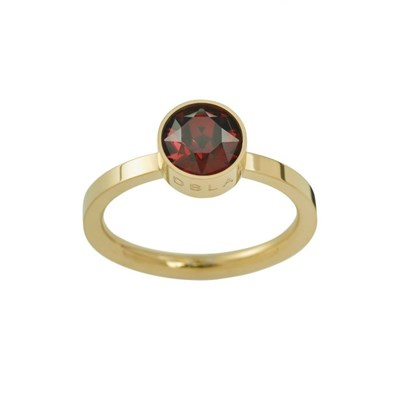 Edblad Ring Diana Plum Gold