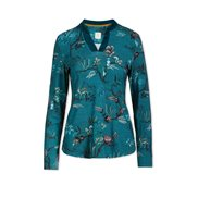 PiP Studio Pyjamastop Woodland Nights Blue