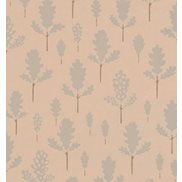 Majvillan Tapet Oak Nature Beige