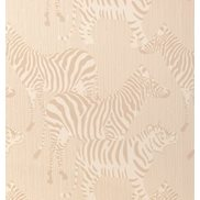 Majvillan Tapet Safari Stripes Dusty Beige