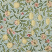 William Morris & Co Tapet Fruit W/P Slate/Thyme