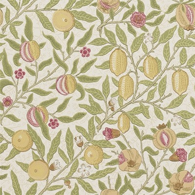 William Morris & Co Tapet Fruit W/P Limestone/Artichoke