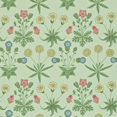 William Morris & Co Tapet Daisy Pale Green/Rose